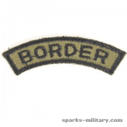Border Tab Uniform 2nd ACR Armored Cavalry Regiment in Grün