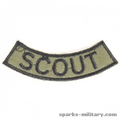 Scout Tab 2nd ACR Armored Cavalry Regiment in green