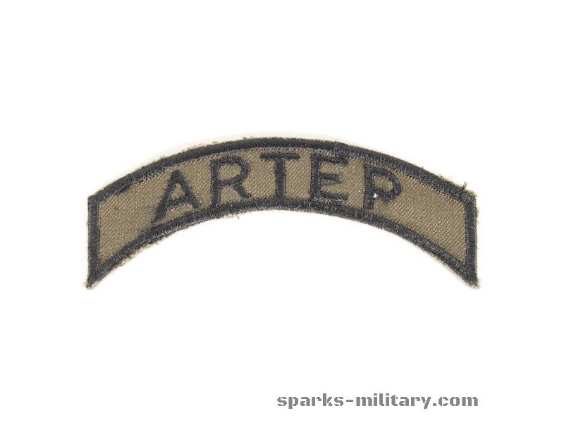 US Army Uniform Tab ARTEP Training and Evaluation Program (ARTEP)