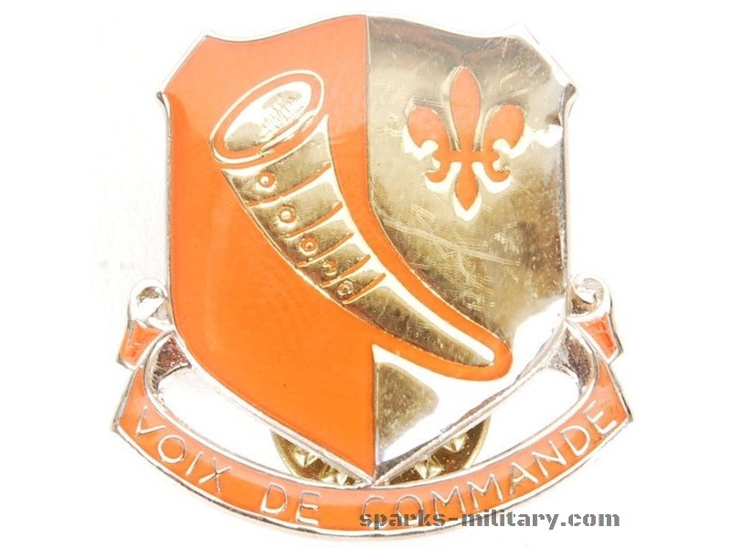 69th Signal Battalion Saigon Unit Crest, german Made