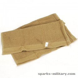 US Army Towel Bath Brown 436