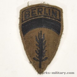 US Army Berlin Unit Patch Subdued Abzeichen