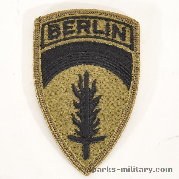 US Army Berlin Unit Patch Subdued