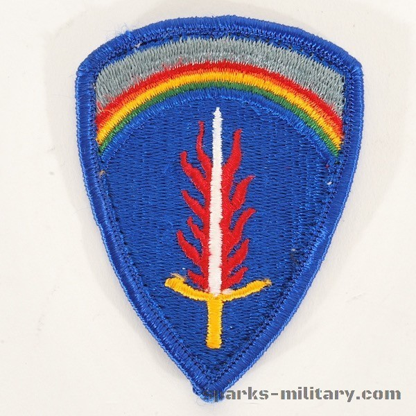 US Army USAREUR Patch color