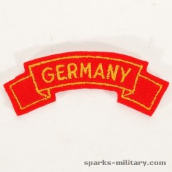 US Army Germany Tab Class-A Uniform Rot