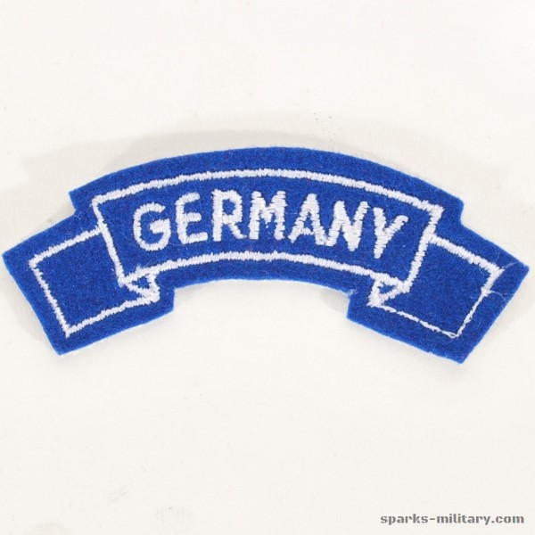 US Army Germany Tab Class-A Uniform Blau