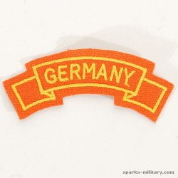 US Army Germany Tab Class-A Uniform Orange