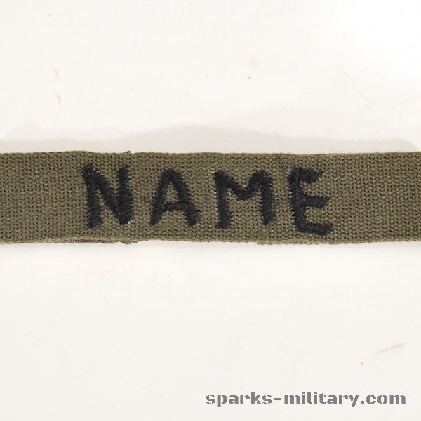 Name Tape Incountry Made Vietnam