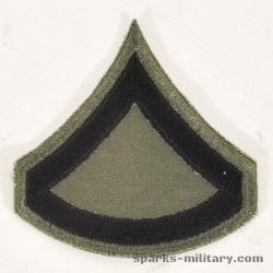 US Army Subdued Cut Edge Rangabzeichen Private First Class