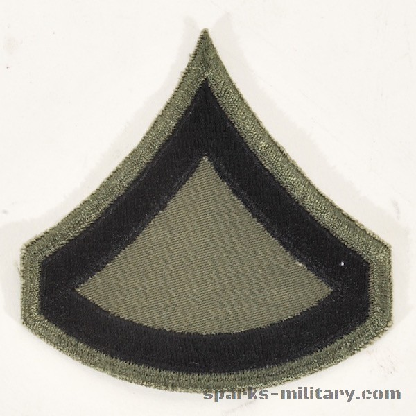 US Army Subdued Cut Edge Rank Private First Class