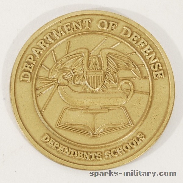 Department of Defense Dependents Schools Coin