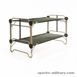 US Military ARM-O-BUNK Bunk Bed, Field Bed, Disc-O-Bed