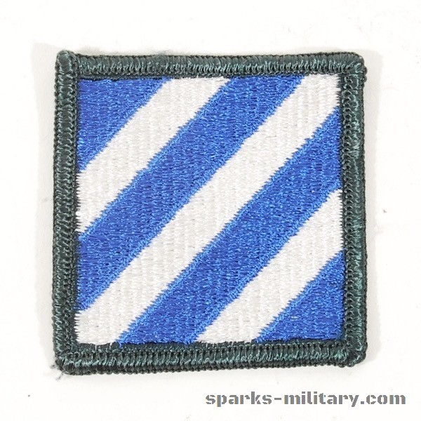 US Army 3rd Infantry Division Patch Color