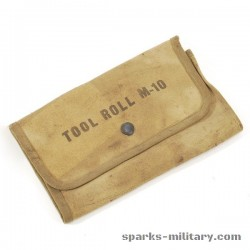 WWII Roll, Tool, Gunners M-10 Canvas