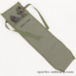 US Army Tool Bag and Spare Parts in Canvas