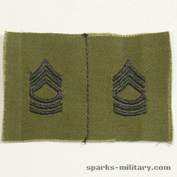 US Army Rank Master Sergeant
