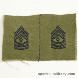 US Army Rank First Sergeant