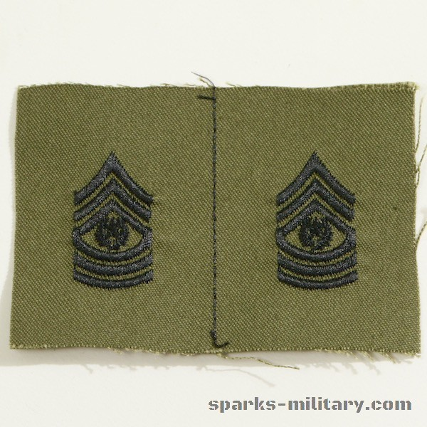 US Army Rank Command Sergeant Major
