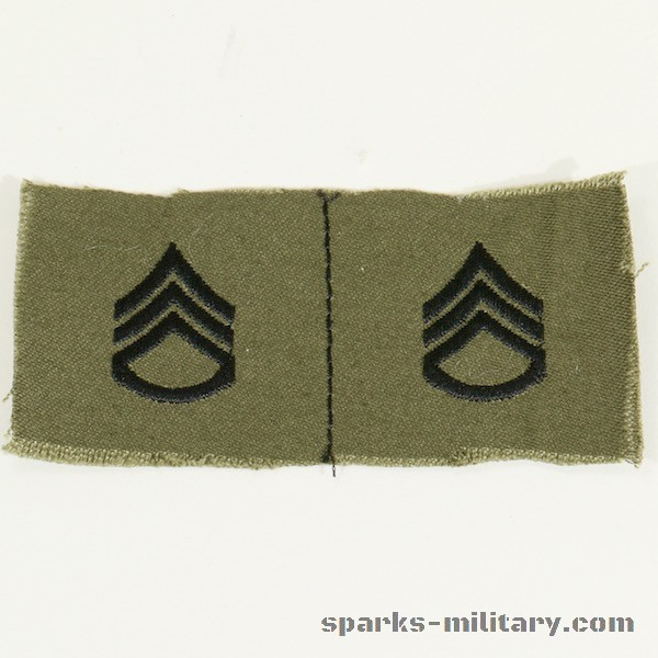 US Army Rank Staff Sergeant