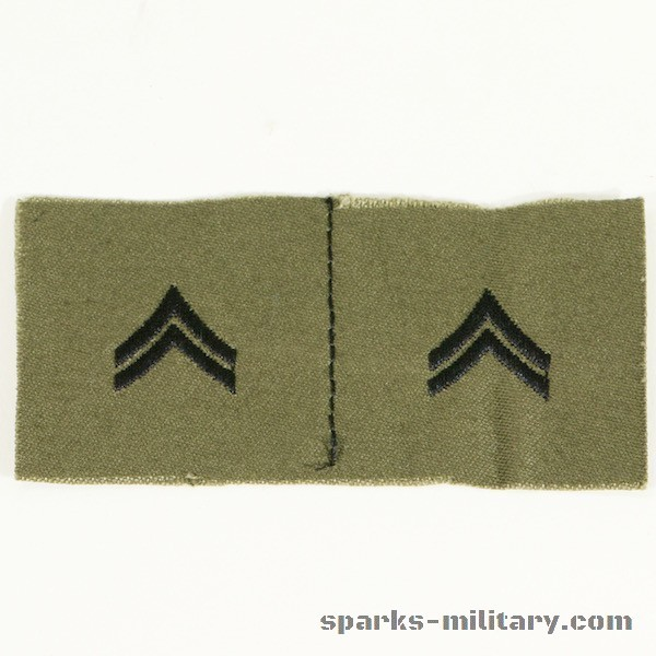 US Army Rank Corporal