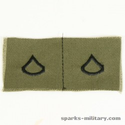 US Army Rank Private 1st Class