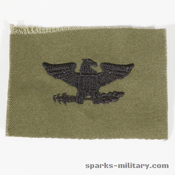 US Army Rank Colonel right
