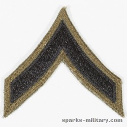 US Army Vietnam Rank Private Chevron