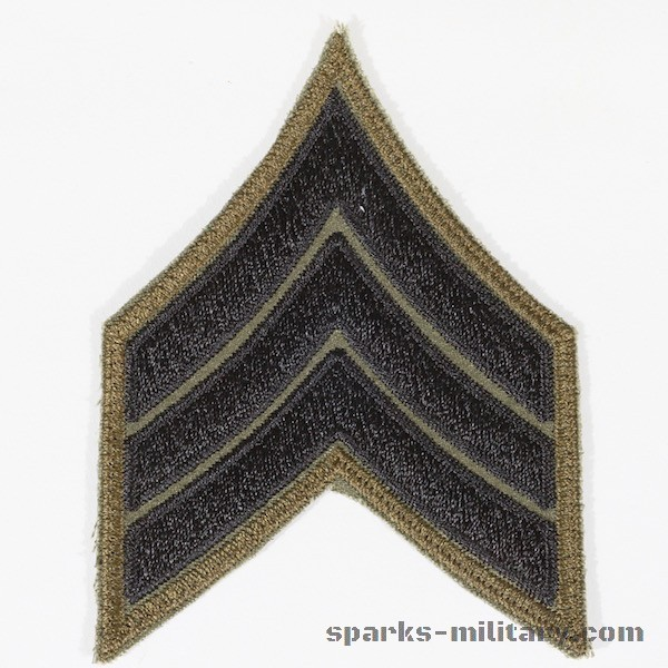 US Army Vietnam Rank Sergeant Chevron
