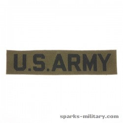 US Army Tab Green