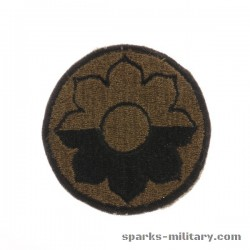9th Infantry Division cut edge Patch