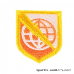 Strategic Communications Command Europe, cut edge Patch