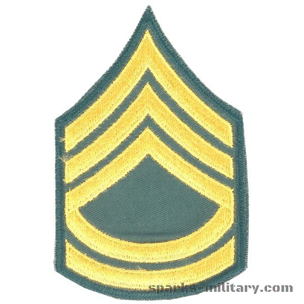 US Army Cut Edge Rank Sergeant First Class
