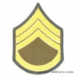 US Army Cut Edge Rank Platoon Sergeant / Sergeant First