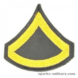 US Army Cut Edge Rangabzeichen Private First Class