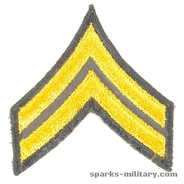 US Army Cut Edge Rank Corporal