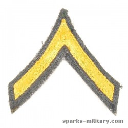 US Army Cut Edge Rank Private