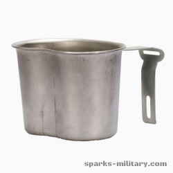 1965 Dated US Military Canteen Cup stainless steel