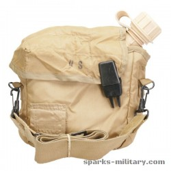 US Military 2 Quart Collapsible Canteen with Cover in Desert