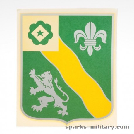 63rd Armor Regiment decal sticker