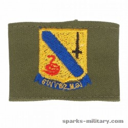 14th Cavalry Regiment Shoulder Tab