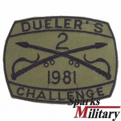 2nd ACR Challenge Pocket Patch 1981