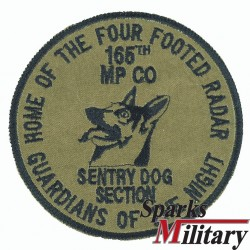 165th Military Police Company Sentry Dog Section