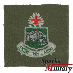 35th Armored Regiment Unit Crest Cloth
