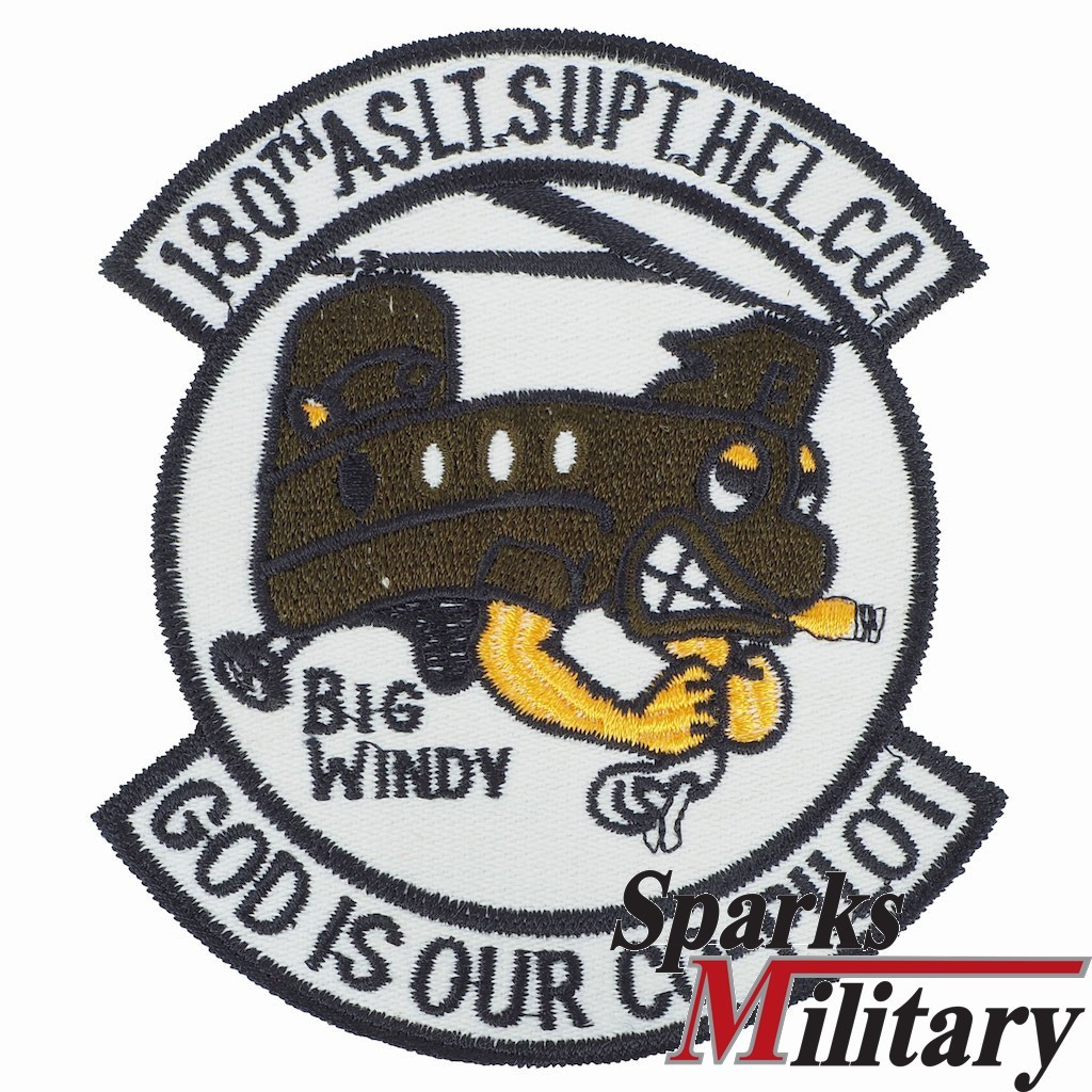 180th Assault Support Helicopter Company Big Windy Pocket Patch