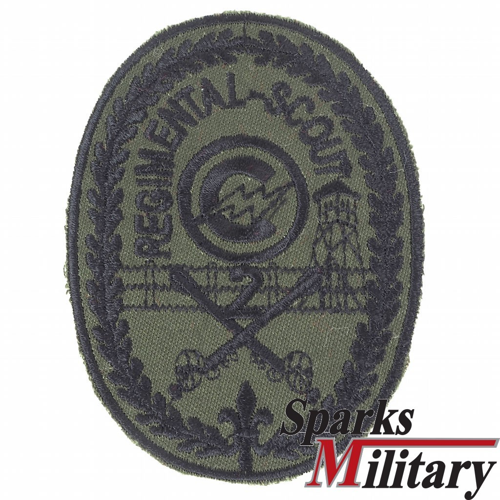 2nd Armored Cavalary Regimental Scout Pocket Patch for US Army Service Unifrom