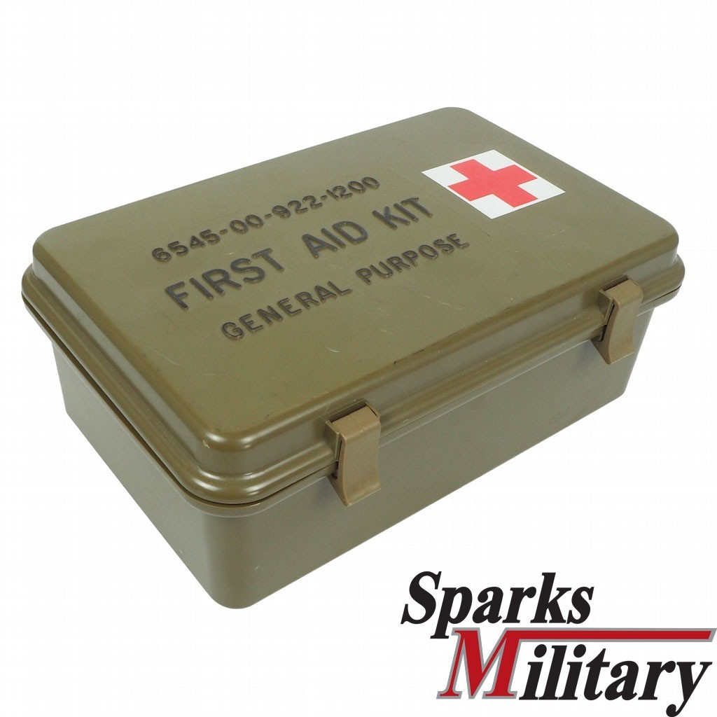 First Aid Kit with Case for Medical instrument and Supply Size A for US military Vehicles