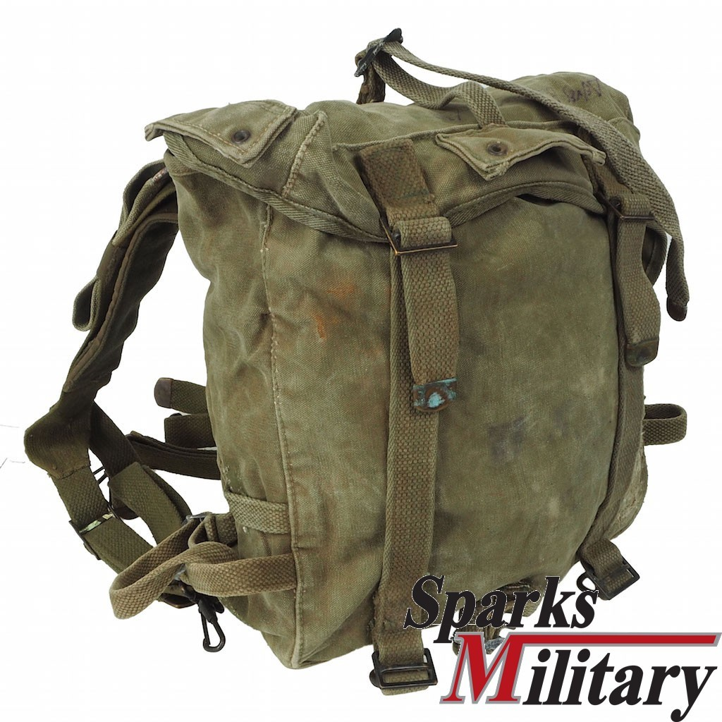 WWII M-1945 FIELD PACK with M-1945 Suspenders
