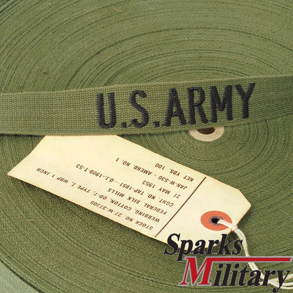 Us Military Name Tape Embroidered With Your Name Buy At Sparks