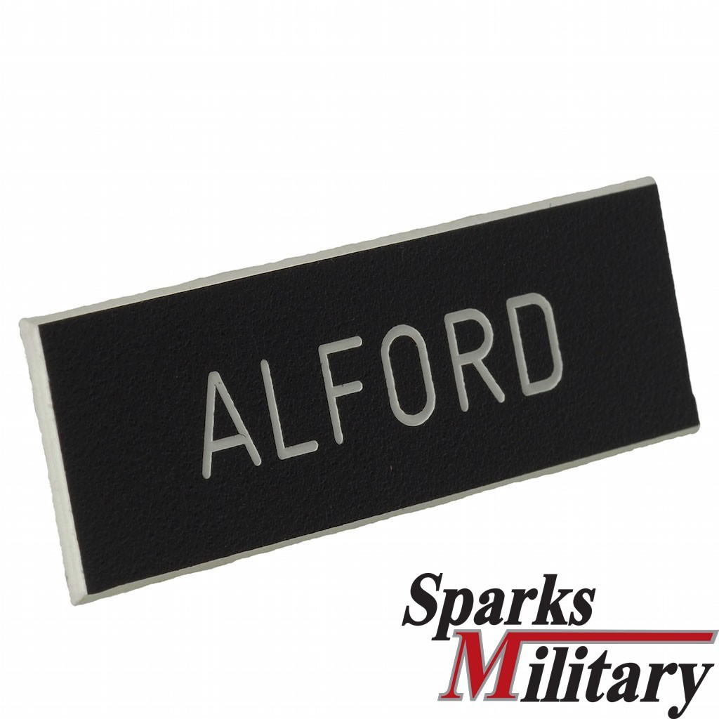 US Army Service Uniform Nameplate