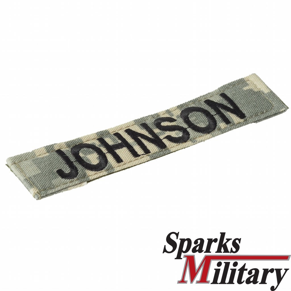 US Army Name Tape in ACU/UCP with Velcro